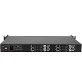 1U Rack 4 Channels H.265 H.264 Video Decoder with HDMI + AV /CVBS Output