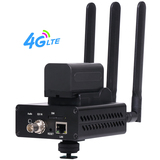 4G LTE HEVC H.265 /H.264 SDI Encoder Support External Battery