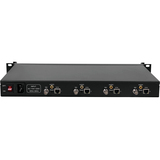 1U Rack 4 Channels HEVC H.265 /H.264 SDI Encoder