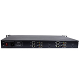 1U Rack 4 Channels HEVC H.265 /H.264 HDMI+AV /CVBS /RCA Video Encoder