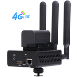 4G LTE HEVC H.265 /H.264 HDMI Encoder Support External Battery