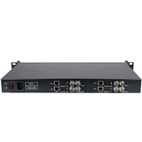 1U Rack 4 Channels H.264 SDI Video Encoder With 4 Channels SDI Loop Out