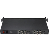 1U Rack H.264 4 Channels HDMI + 8 Channels CVBS /AV /RCA Video Encoder