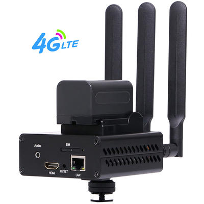HEVC H.265 /H.264 HDMI Encoder Support 3G /4G And Battery
